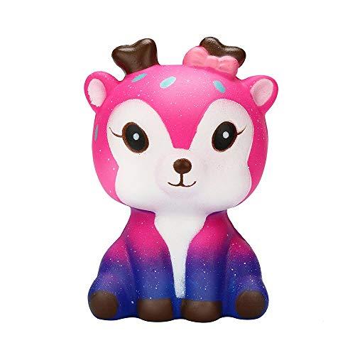 YWLINK Kitz Tier Dekompression Squeeze Spielzeug EntzüCkende Eule Squishy Langsam Steigend Cartoon Puppe Creme ParfüMiert