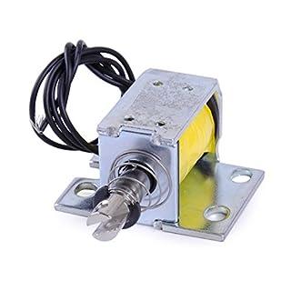 LETAOSK DC 12V Open Frame Magnet Elektromagnet 0,8N Haftkraft Taster Typ ZYE1-0837ZP