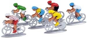 Norev - 318991 - Figurine - Sport - Blister 6 Cyclistes Nouveau
