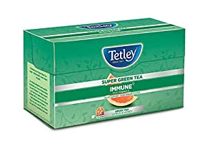 Tetley Super Green Tea, Immune, 30 Tea Bags