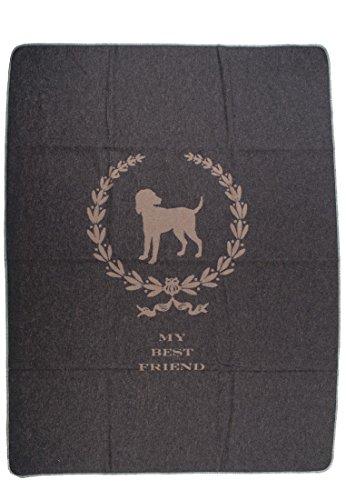 Haustierdecke BESTFRIEND Hund 100 x 140 cm - (6150 Fb 98)