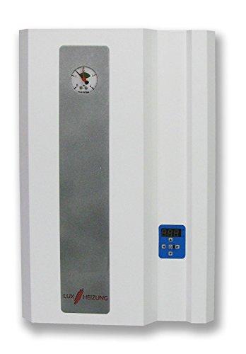 Elektro Heizkessel Heiztherme 24kW Merkur elektrische Heizanlage Elektro-Zentralheizung - elektrischer Wasserkessel LUXHEIZUNG
