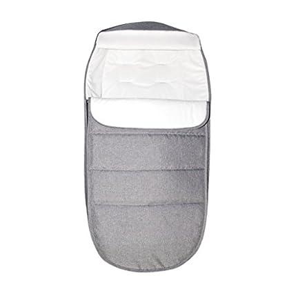 Bebé Saco de Dormir 2.5 Tog, Mantas Envolventes Invierno para Cochecito 0-24 Meses, Azul