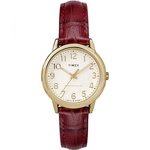 Timex Orologio Analogico Automatico Unisex Adulto con Cinturino in Pelle TW2R65400