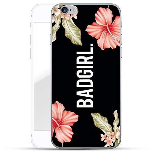 finoo | iPhone 6 und 6S Hard Case Handy-Hülle mit Motiv | dünne stoßfeste Schutz-Cover Tasche in Premium Qualität | Premium Case für Dein Smartphone| Badgirl Hard Case Handy Cover