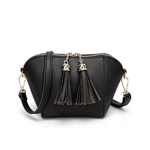 B-B Fashion Tassel Tote Shoulder Small Bag Handbag For Girls (Italienisch Steelers)