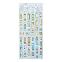 HasiDun Original Creative Cute Animals PVC Sticker DIY Scrapbooking Decoration Sticker Office School Supplies Kids DIY Gift Diary Sticker in fine Style