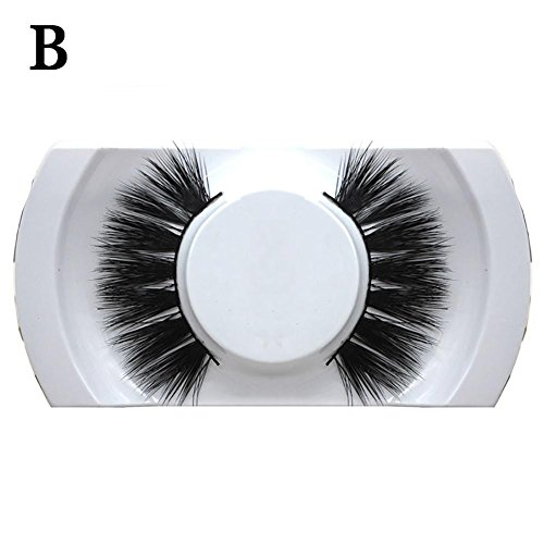 Blue Vessel Ein Paar Falsche Wimpern Make-up Long False Eyelashes (2#) (Long-wear Makeup Remover)
