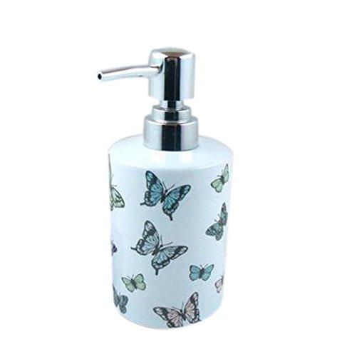 Body Chic crème Bouteilles douche Bouteilles de gel/Container, Brown papillon