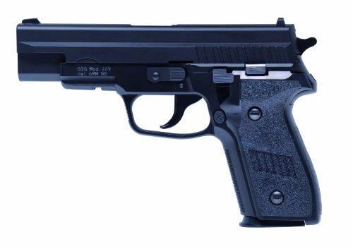 Softair Pistole 200029 GSG 229 long Kaliber 6 mm Federdruck  < 0.5 Joule (Sig Gewehr Softair)