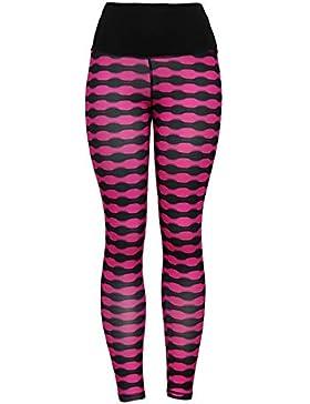 YOYOGO Pantalones Bombachos Estilo HaremLas Mujeres de la Cintura de Hight Yoga Fitness Leggings Running Stretch...