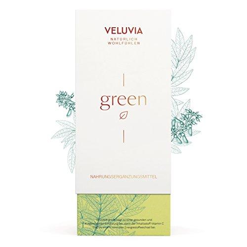 Veluvia-03513-Green-Vegan-Nahrungsergnzungsmittel-Langfristig-Gesund-Vitamin-C-Superfood-Bio-Mix-Untersttzung-Der-Tglichen-Ernhrung-Immun-Nervensystem-2-x-30-Kapseln-1-Monat