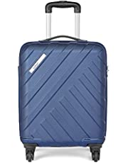 Safari RAY Polycarbonate 53 cms Midnight Blue Hardsided Cabin Luggage (RAY534WMBL)