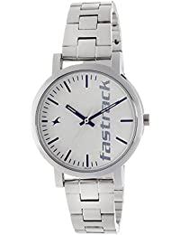 Fastrack Fundamentals Analog White Dial Women's Watch - 68010SM01