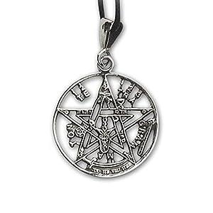 Anhänger Tetragrammaton Magischer 925er Silber Schmuck – Schutzamulett