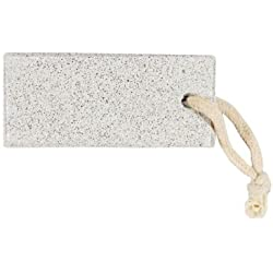Vega Rectangle Shaped Pumice Stone , White