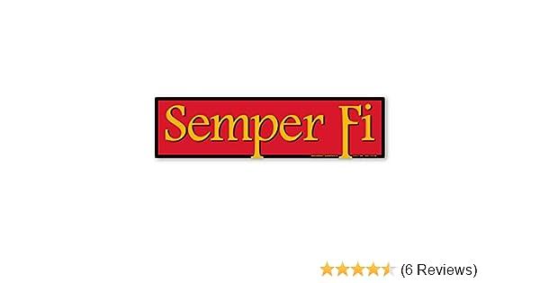 Semper Fi Bumper Strip Magnet
