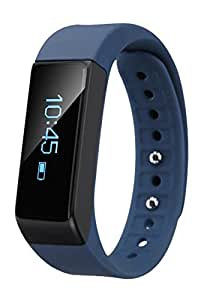 EFOSHM Wireless Activity Fitness Tracker Wristband for IOS and Android Phones - Blue