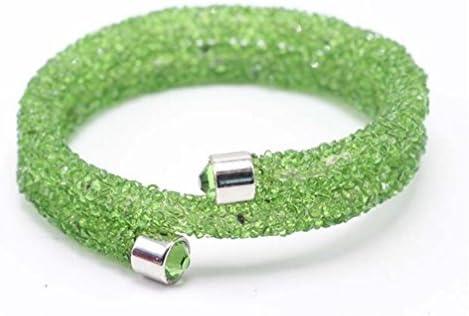 Upstudio Bracelet à à à Perles Multicouches pour Loisirs créatifs et Loisirs créatifs Vert Clair | économie  7fe3ef