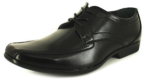 Neuf Pour Hommes/Hommes Noir Hush Puppies Easton Ralston à lacets Chaussures Noires - TAILLES UK 7-11