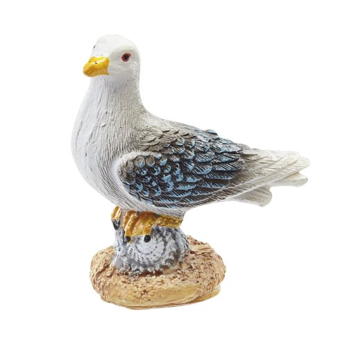 r Deko Möwe 5 cm Küste Vogel Mini Strand DIY basteln ()