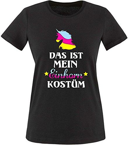 Das ist mein Einhorn Kostüm Damen Rundhals T-Shirt