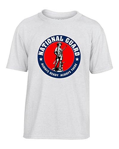 T-Shirtshock - T-shirt Kinder TM0431 National Guard Logo, Größe 9-11jahre (Guard T-shirt National)