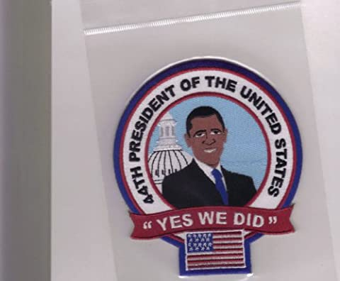 Collectors Patch 44th President Of The United States Of America