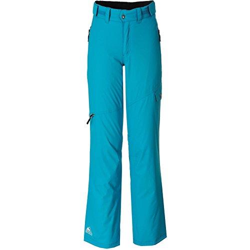 Cox Swain Damen 2-Lagen Snowboard-/ Skihose Lara 8.000mm Wassersäule - 5.000mm Atmungsaktivität, Colour: Blue, Size: L