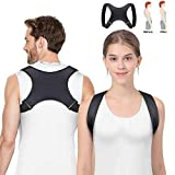 Vandeep Posture Corrector,Physical Therapy Adjustable Back Brace Support for Men Women - Back