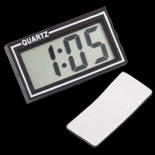 Reloj Digital para coche Tiempo Calendario Fecha con soporte