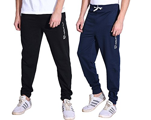 VERSATYL Men's Jogger Stylish Slim Fit Track Pants for Gym, Running, Athletic,...