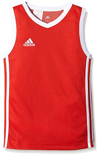 adidas Kinder Trikot Commander Jersey Youth Rot/Weiß, 140