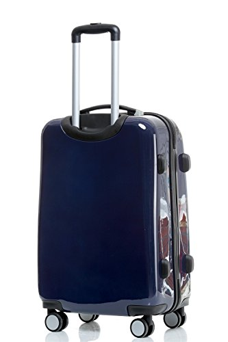 41BqS%2BaX5vL - Maleta de viaje 2060,rígida, en 12 motivos, XL, L, M England XL+M(Handgepäck)