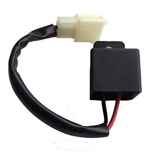 Universal 2 Poliger 12 V Motorrad LED Blinker Relais Lastunabhängiges Blinkerrelais Blinkgergeber -