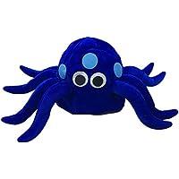 Amosfun Cappello Peluche a Forma di Polpo Blu Cappellino Animali per  Carnevale f4da768da250