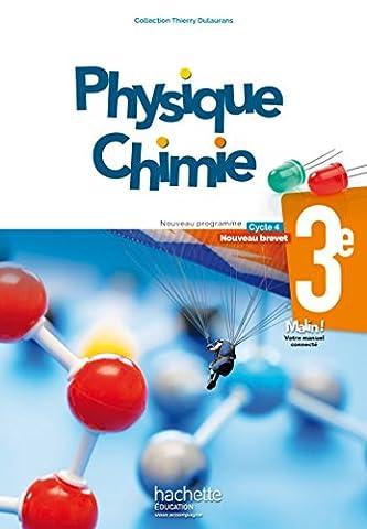 Livre Physique Chimie - Physique-Chimie cycle 4 / 3e - Livre