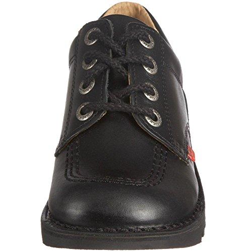Kickers Kick Lo Core, Chaussures à lacets Garçon Noir