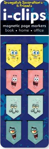 spongebob-squarepants-i-clips-magnetic-bookmarks