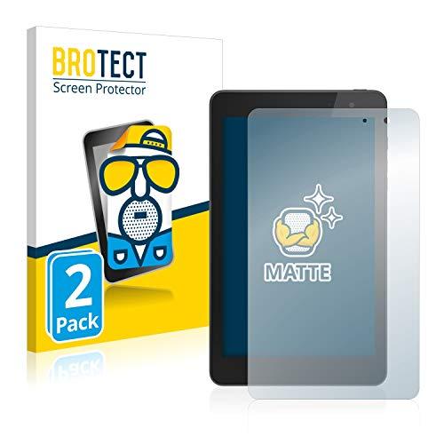 BROTECT Entspiegelungs-Schutzfolie kompatibel mit Dell Venue 8 Pro (2 Stück) - Anti-Reflex, Matt