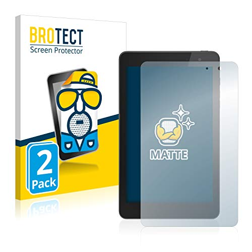BROTECT Schutzfolie Matt kompatibel mit Dell Venue 8 Pro [2er Pack] - Anti-Reflex