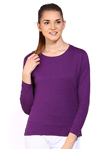 Ap'pulse Women's Long Sleeve Round Neck T Shirt  available at amazon for Rs.245