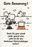 Sheepworld - 55374 - Klappkarte, mit Umschlag, Gute Besserung, Nr. 38