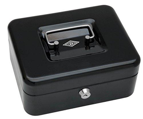 Wedo 145221H Geldkassette aus pulverbeschichtetem Stahl und versenkbarer Griff - 2
