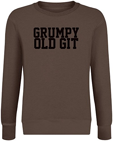 t - Grumpy Old Git Sweatshirt Jumper Pullover for Men & Women Soft Cotton & Polyester Blend Unisex Clothing XX-Large ()