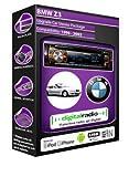 BMW Z3E36DAB Radio KFZ Stereo Pioneer deh-4700dab inkl. DAB Antenne