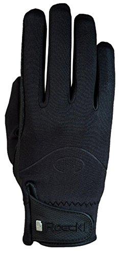 Roeckl Sports Winter Handschuh Winchester, Unisex Reithandschuhe, Schwarz, 10