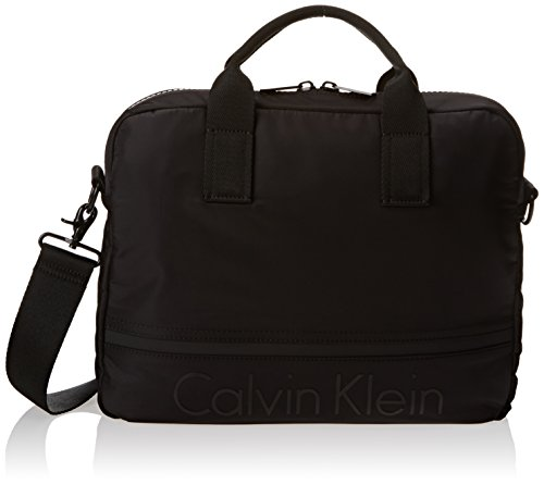 Calvin Klein Matthew Laptop Bag, Cartables homme, Noir...