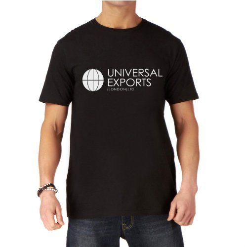 premium-james-bond-007-universal-exports-mens-black-printed-t-shirt-xl