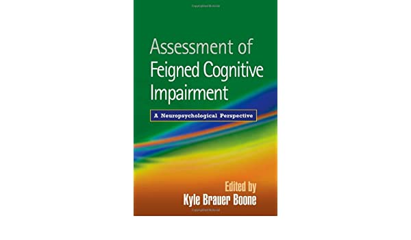 Buy Assessment of Feigned Cognitive Impairment: A